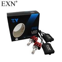 2Pcs LED Headlight Conversion Kit H7 All Bulb Sizes 90W 9000LM Philip LED Headlight Bulb Replaces