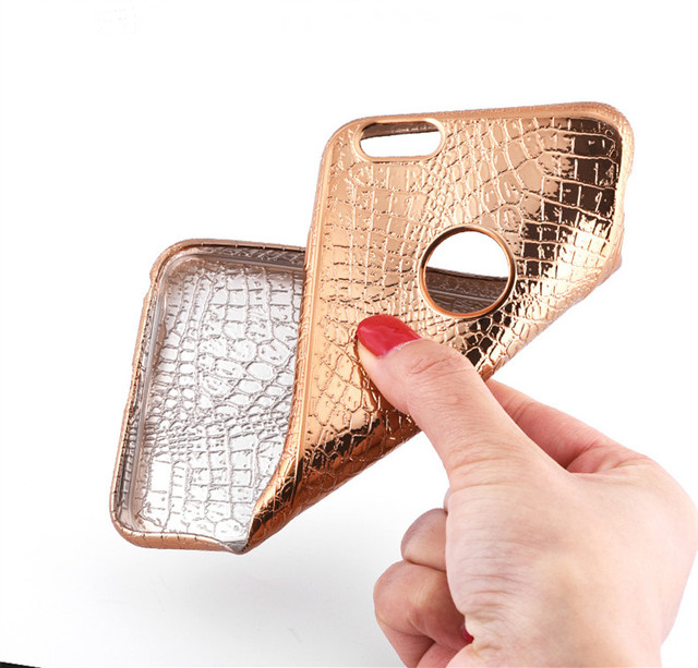 Luxury Crocodile Skin Print iPhone Case