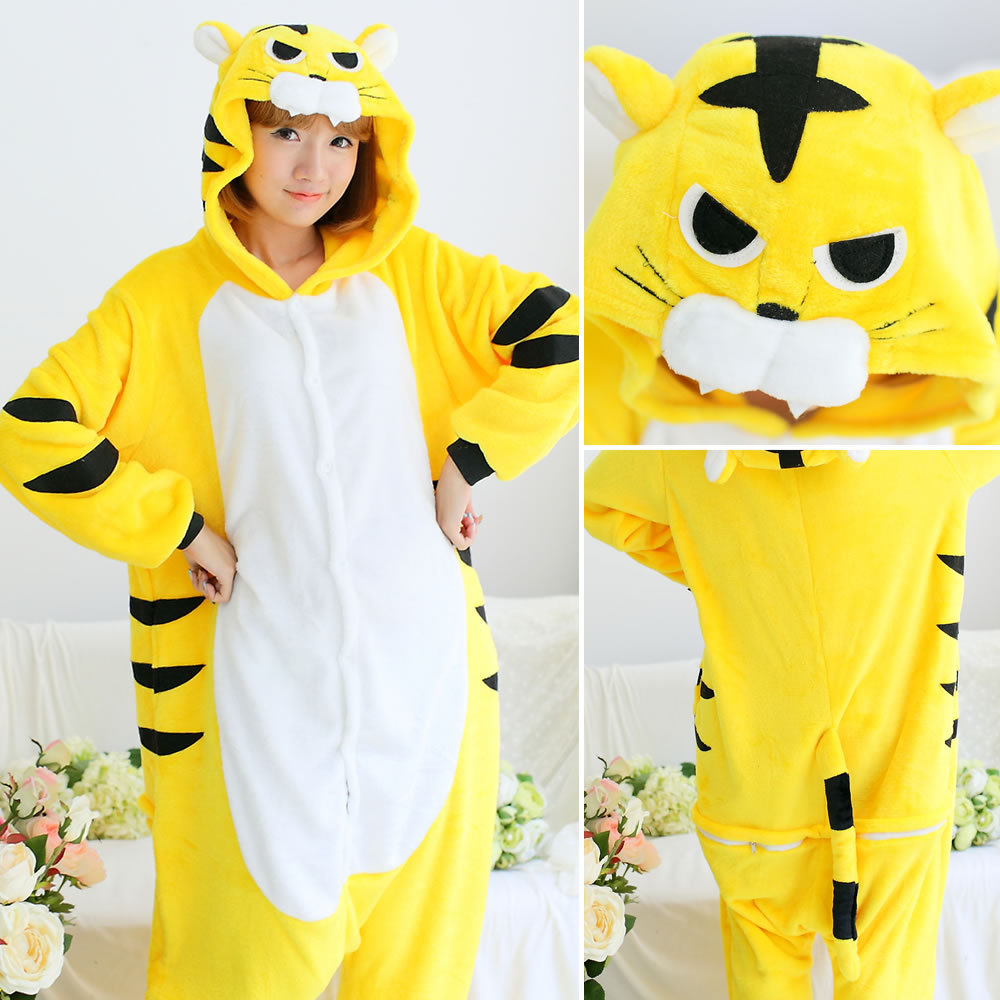 Women Kigurumi Panda   Pajamas     Sets   Flannel Cute Animal Pijama Women Winter Long Sleeve Sleepwear Unisex Nightie Pyjamas Homewear