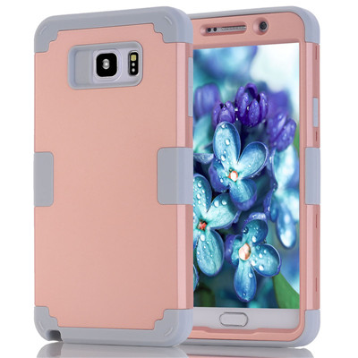 Shockproof Phone Case For Samsung Galaxy Note5 Case Durable PC+TPU 3 Layers Hybrid Full Body Protect Anti-Knock Phone Shell (13)