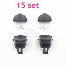 15 Sets JDS 040 JDM 040 Controller Trigger Taste Ersatz L1 R1 L2 R2 mit Frühling Für PS4 Pro controller reparatur Teil