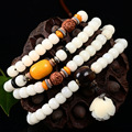 Natural White Jade Bracelets Female Models Diy Fashion Jewelry Bodhi Seed Bracelet Accessories Women Jewelry