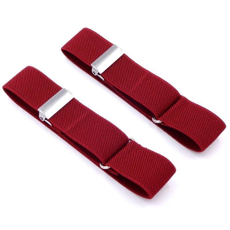 Polyester Elastic Unisex Armbands Sleeve Garter Adjustable Gift Shirt Sleeve Holders Elastic Sports Fashion Business Accessories