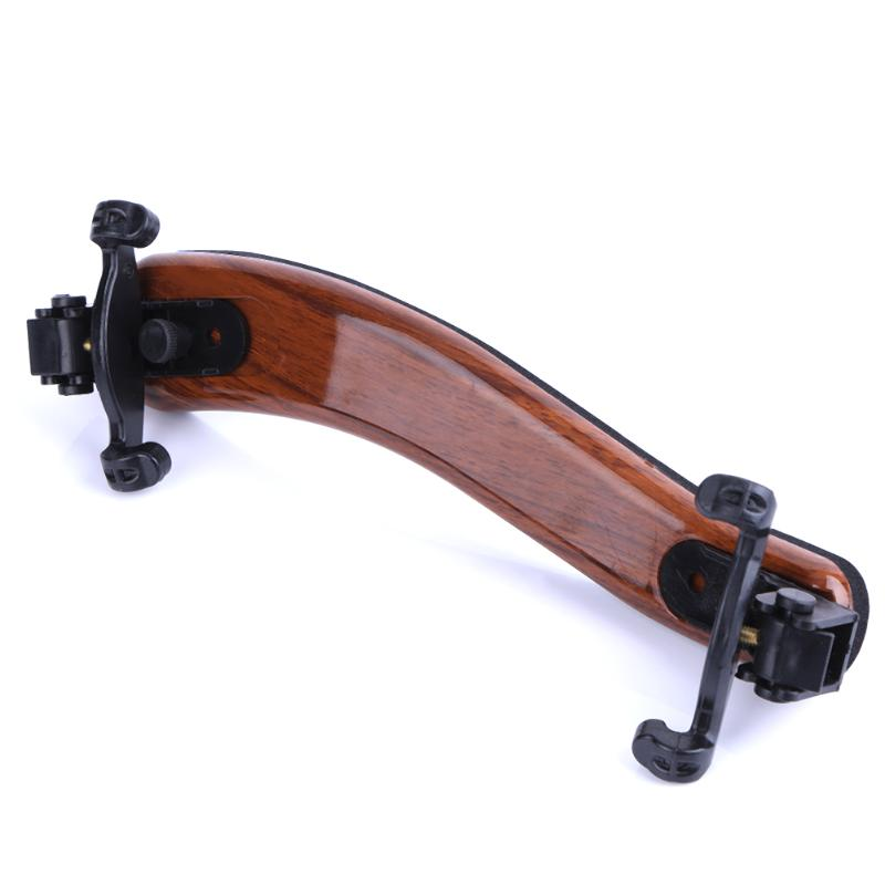 New Professional Violin Use 4/4 Full Size Adjustable Maple Wood Violin Shoulder Rest Support For Violin Parts & Accessories