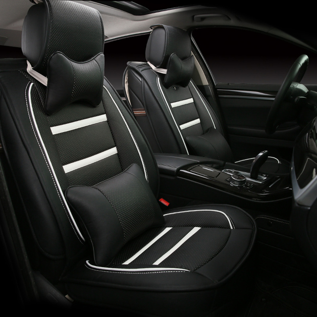 3D esporte estilo do carro almofada geral tampa de assento para BMW 3 4 5 6 7 SeriesGT M3 X1 X3 X4 X5 X6 Suv de alta - carro de fibras de couro - cobre