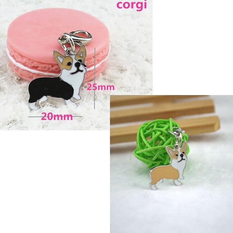 On sale dog pendants, ornaments, gifts, pet wholesale stores, Corgi, 10 discount, fashion jewelry