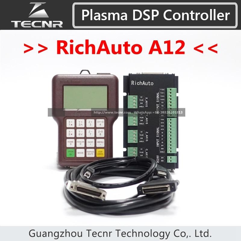 RichAuto A12 Controllore al plasma CNC DSP A12S A12E Sistema di controllo cnc USB Versione inglese