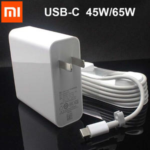 Xiaomi Adapter Charger Type-C Laptop-Air-13 USB-C Original Mi-Pad 45W 65W for 15 4-Plus