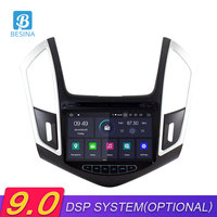 Besina Android 9.0 Car DVD Player For CHEVROLET CRUZE 2013 2014 2015 Multimedia GPS Navigation Stereo 2 Din Car Radio WIFI Audio