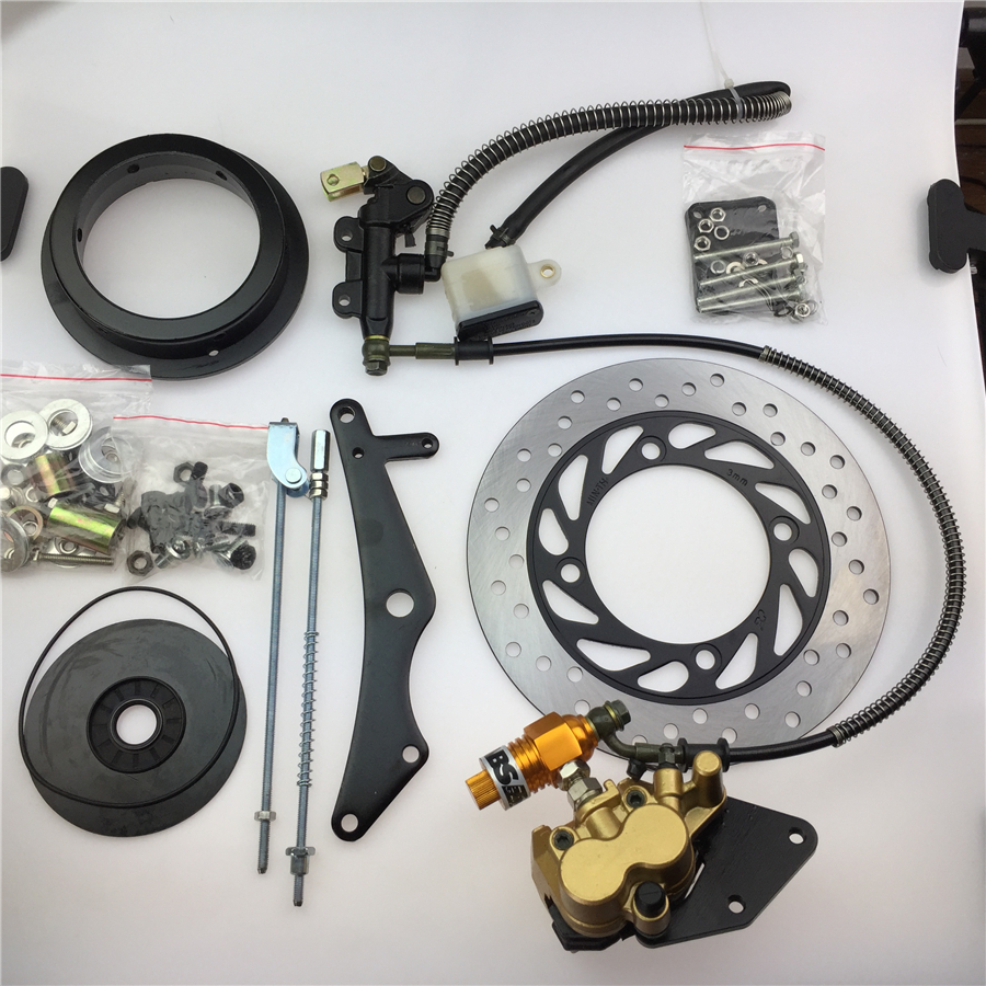 STARPAD For Qianjiang EN / YBR / GZ / GS / GN Motorcycle Inner Hub 13cm Motorcycle Modified Disc Assembly Kit Disc With ABS