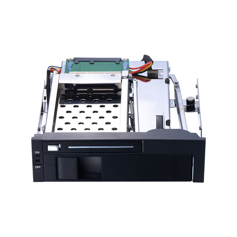 5 25 inch internal hot plug hdd mobile rack for optical bay support 2 5 inch