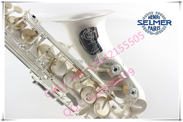 Cheap Henry of France selmer E alto saxophone reference 54 silver general anesthesia