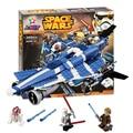 Bela 10375 Star Wars Jedi Starfighter Anakins Caza Personalizado ladrillos de construcción bloques Juguetes para niños Juego Compatible con Decool Lepin