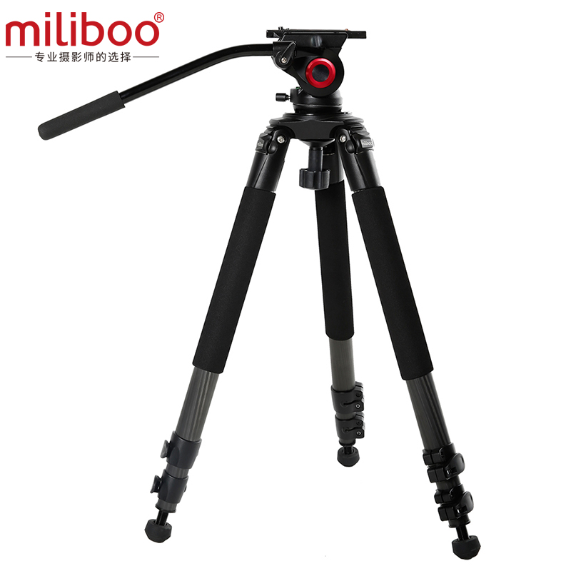 MTT701B Best Carbon Fiber Camera Mount Tripod For photo accessoires /dslr Digital Camcorder Stand image