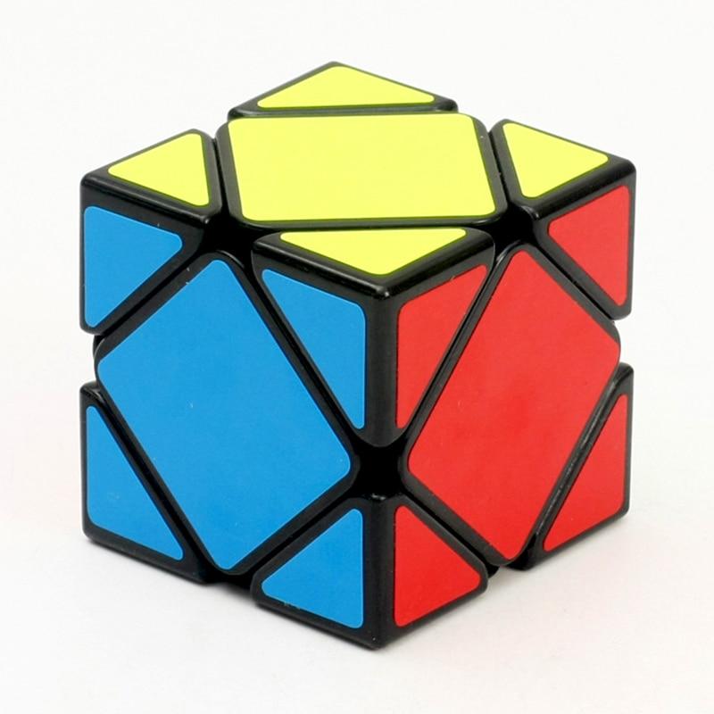 Qiyi QiCheng Mini Skew Cube Magic Speed Cubes Cubo Rubic Bricks Block Brain Teaser New Year Gift Toys For Children