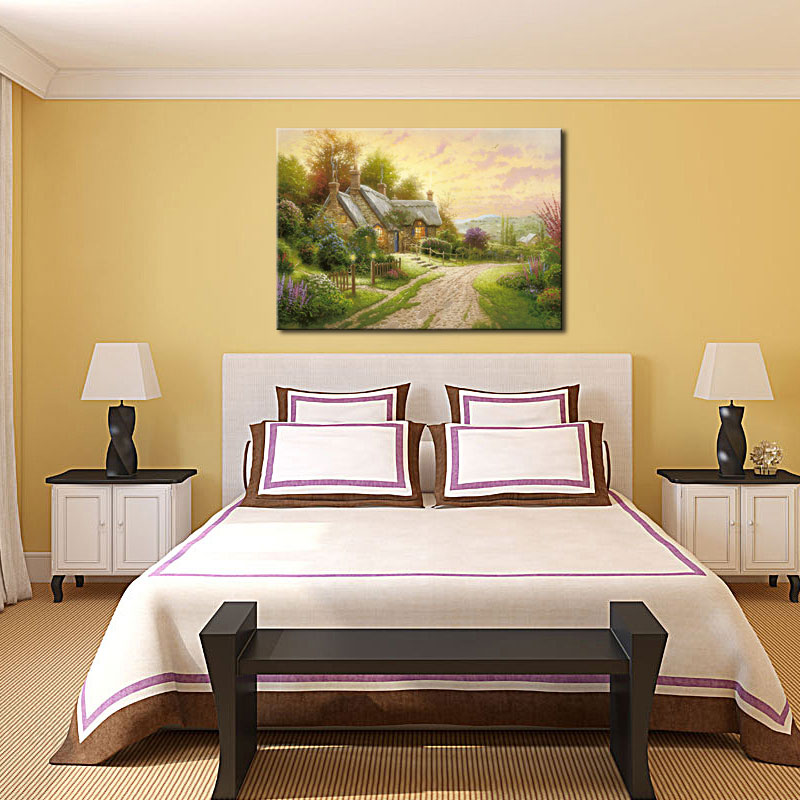 Fine Country Cottage Wall Decor Gift - Art & Wall Decor - hecatalog.info