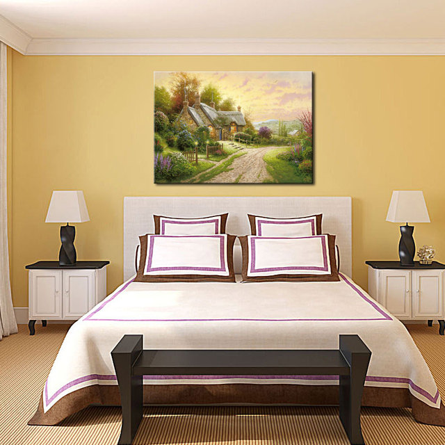 1 Picture Combination Beautiful Painting Thomas Kinkade Country ...
