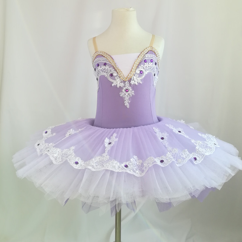 States purple ballerina dance