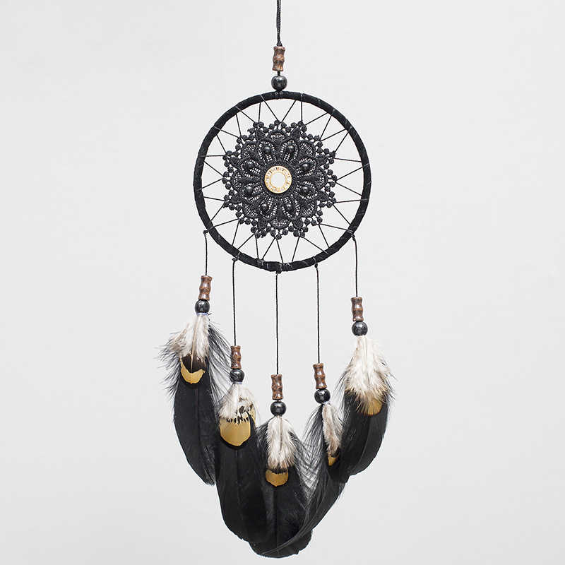 2018 New Simple Dream Catcher Wind Chime Pendant Creative Home Decoration Bedroom Living Room Wall Decoration Ornaments-60245