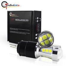Gtinthebox Fehler free led drl licht Hp24w 3030SMD 12V g4 led Tagfahrlicht bulb lampe für Citroen c5 und peugeot 3008