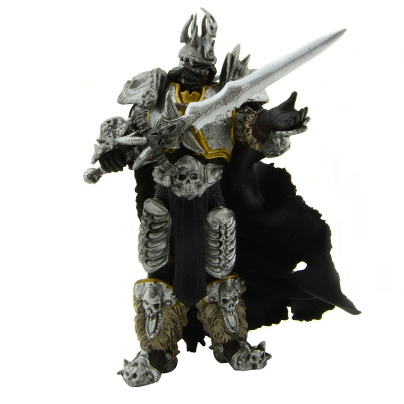 Starz Game WOW Arthas Menethil Fall of the Lich King Static Collection Action PVC Figure Toys Handing Frostmourne state of wow бейсболка wow модель 2587674