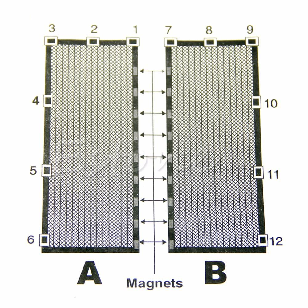 Magnetic Curtains For Doors Aliexpresscom Buy Magic Curtain Door Mesh Magnetic Hands Free