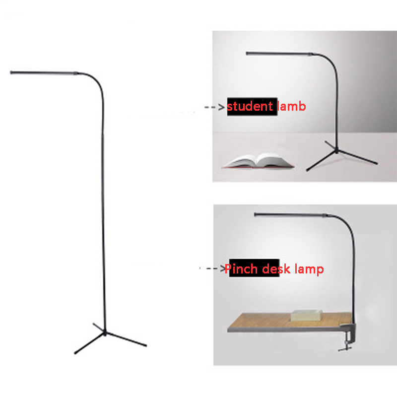 Multifunctional modern floor lamp white and warm white LED  dimmer USB table lamp reading vertical Desk LampMultifunctional modern floor lamp white and warm white LED  dimmer USB table lamp reading vertical Desk Lamp