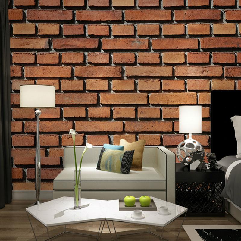 ̿̿̿(•̪ )Home Decor Wall Papers 3D Living Room Bedroom TV Wall Paper ...