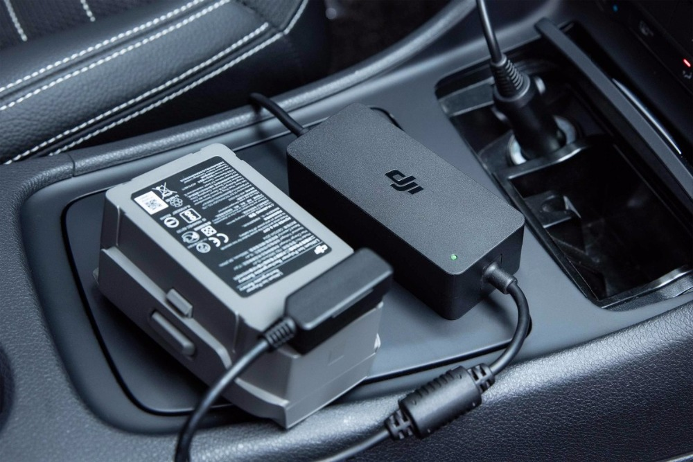 Автомобильное зарядное устройство для Origainl DJI Mavic 2 Pro Zoom интеллектуальная летная батарея автомобильное зарядное устройство - 2