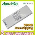 """Apexway Branco 59wh 10.8 v Bateria Do Portátil para Apple MacBook 13 """"A1181 A1185 MA561 MA566 MA561J/A MA254 MA255 MA699 MA700 MA472"""