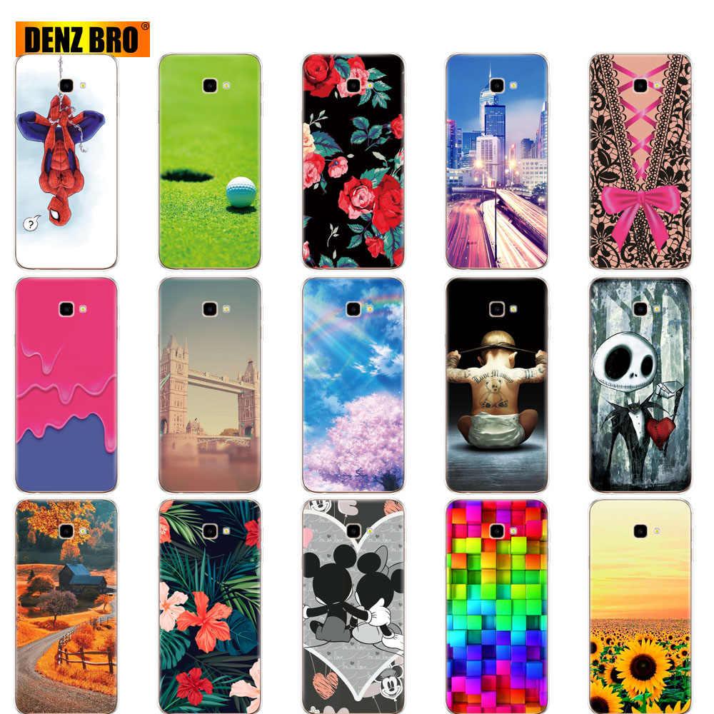 Coque para Samsung Galaxy J4 2018 funda de silicona Galaxy J4 2018 EU J400F J400 Teléfono para Samsung J4 Plus 2018 J4 Prime sm j415