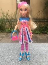 """Disney descendentes luzes de néon bola 11 """"ally auradon prep boneca brinquedo figura ação novo sem pacote"""