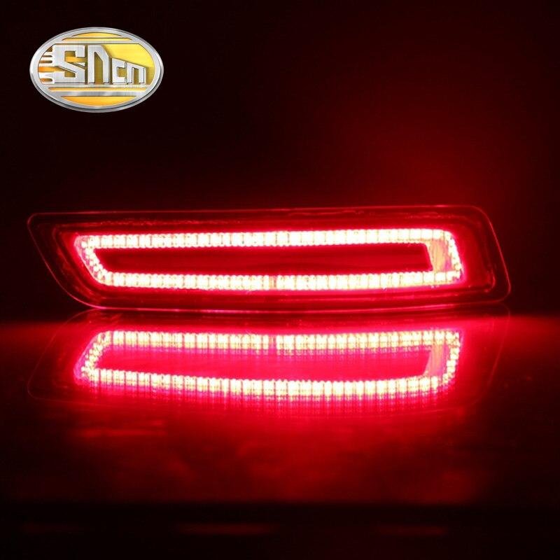 For Lexus ES250 ES300H ES350 2012 - 2015 SNCN Multi-function Car LED Rear Fog Lamp Bumper Light Brake Light Turn Signal Light sncn led car headlight for for lexus es250 es350 es300h 2013 2014 2pc 12v 50w 8000lm led headlamp conversion kit auto bulb
