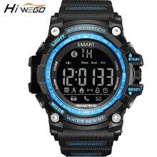 Hiwego Bluetooth Outdoor Sport Smart Watch for Men Professional 5ATM Waterproof Smart Wristwatch Pedometer font b