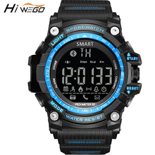 Hiwego Bluetooth Outdoor Sport Smart Watch for Men Professional 5ATM Waterproof Smart Wristwatch Pedometer Smartwatch 2017