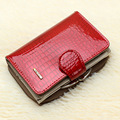 Luxury brand women purses genuine leather wallet for girls fashion design leather credit card holder dollar price ladies wallet