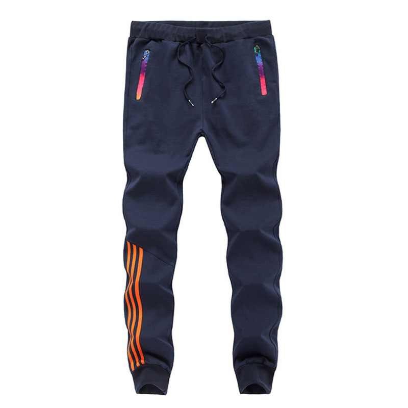 Pantalones deportivos M-5XL de verano para hombre, pantalones de chándal ajustados a la moda para hombre, pantalones ajustados a rayas, ropa de gimnasio, pantalones harén de talla grande