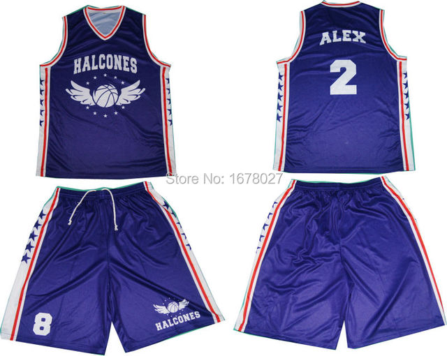 0a7ea079e Royal Blue Team Uniforms Personal design Basketball Tops and Shorts ...