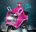Free shipping Electric bicycle motorcycle raincoat single transparent fashion large brim hat thickening poncho