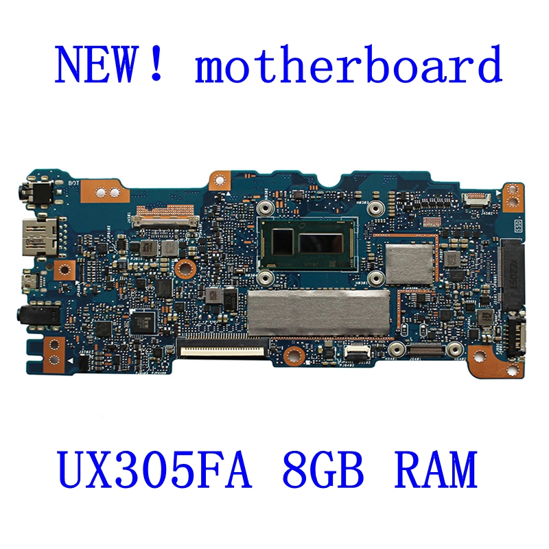 in stock original UX305FA 8GB RAM laptop motherboard for ASUS UX305FA UX305F UX305 U305 U305F motherboard processor tested for asus ux305 ux305ca ux305la ux305fa 13 3 inch touch panel with digitizer
