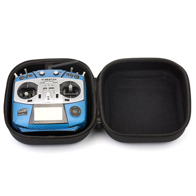 RC Fernbedienung Sender Fernbedienung Durchführung Koffer Koffer Hand Tasche für FUTABA T14SG T8FG JR Frsky Taranis X9D PLUS