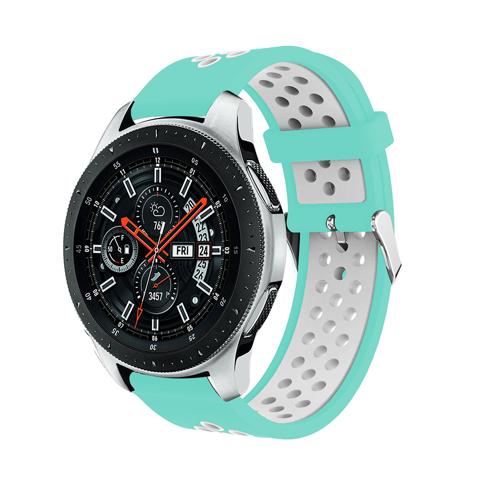 Frontier classic strap for Samsung Gear S3 sport for Samsung Galaxy 46mm band for huami amazfit stratos 2 2S bracelet watchband in Watchbands from Watches