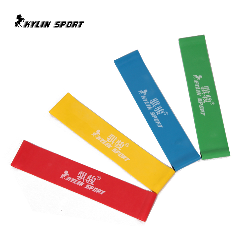 Neue 4psc / lot 4 Stufen verfügbar Pull Up Assist Bands Übung Body Ankle Fitness Widerstand Loop Band
