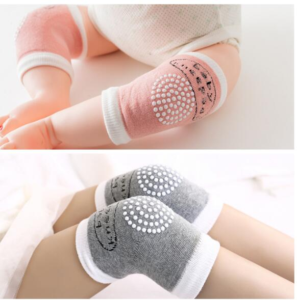 Children's Thin Knitted Knee Sleeve Kids Dot Kneecap Baby Walking Knee Sleeve R396