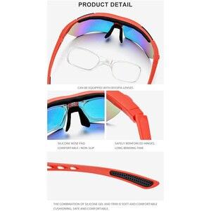 Image 4 - TR90 polarize spor erkek güneş gözlüğü yüksek kaliteli güneş gözlüğü kadın 2019 yeni miyopi reçete gözlük Shades 5 Lens 3204