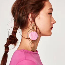 Drop Geometric Earrings