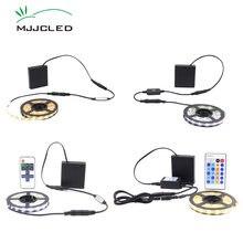 Светодиодная лента с питанием от аккумулятора светильник регулируемой