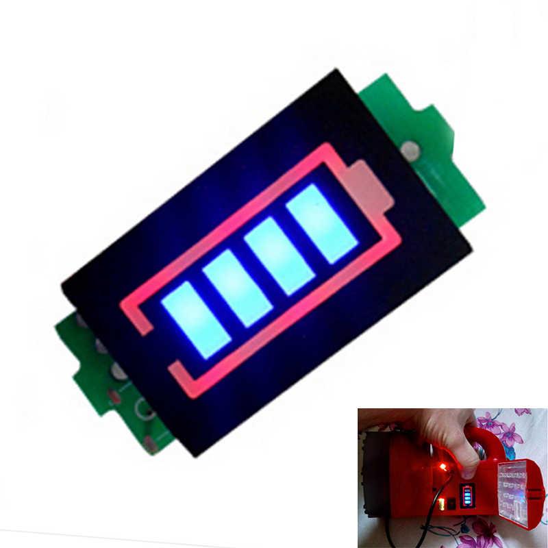 8.4V 2S 18650 لى بو ليثيوم أيون مجموعات بطاريات الليثيوم بطارية قدرة مؤشر متر مستوى الطاقة اختبار وحدة عرض مجلس لوحة