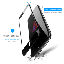 ESVNE 5D Tempered Glass for iphone 7 glass 6s plus Screen Protector