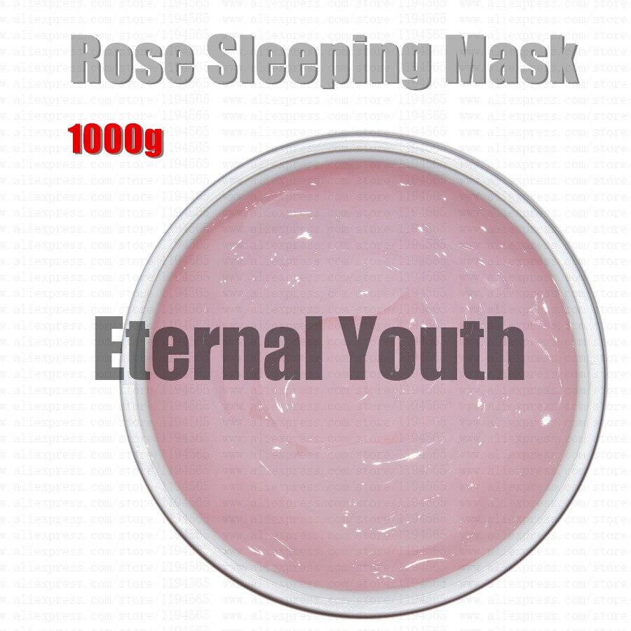 Rose masque de couchage hydratant blanchissant hydratant guérison Anti oxydation éclaircir la couleur de la peau équipement hospitalier en gros